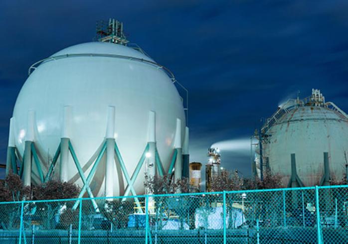 gasbaufereitung